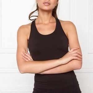 Only Play Philippa Seamless Top Black