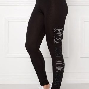 Only Play Tanya Jersey Leggings Black/Blue