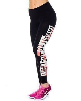 Only Play Yvonna Jersey Leggings Black