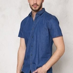 Only & Sons Adam SS Shirt Medium Blue Denim
