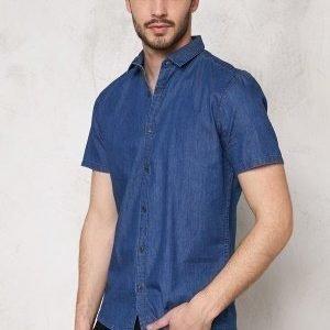 Only & Sons Adam SS Shirt Medium Blue Denim