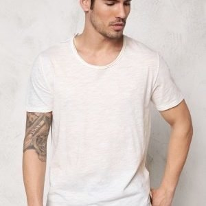 Only & Sons Albert Reg O-Neck White Melange