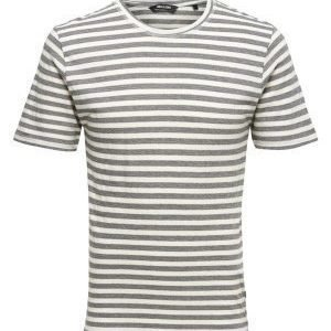 Only & Sons Allan fitted tee Cloud dancer