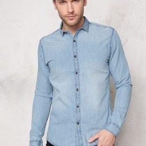 Only & Sons Austin Shirt Light blue denim