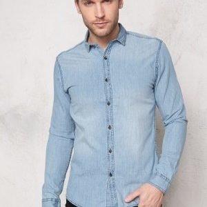 Only & Sons Austin Shirt Light blue denim