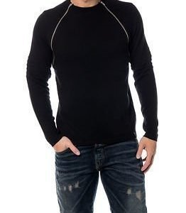 Only & Sons Birk Crew Neck Knit Black