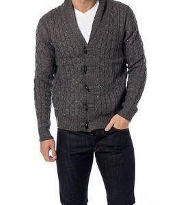 Only & Sons Brody Cardigan Knit Dark Grey Melange