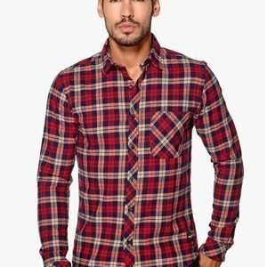 Only & Sons Carstem LS shirt Deep claret