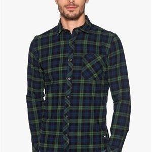 Only & Sons Carstem LS shirt Dress blue