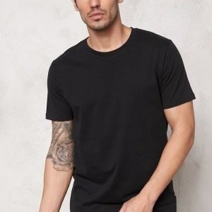 Only & Sons Curved Reg O-Neck Black