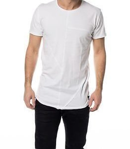 Only & Sons Cutter Long O-neck White