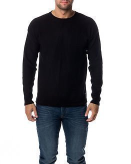 Only & Sons David Crew Neck Knit Black