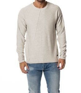 Only & Sons David Crew Neck Knit Oatmeal