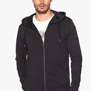 Only & Sons Davin longline zip Black