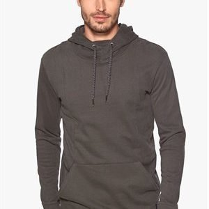 Only & Sons Dennis longline hoodie Raven
