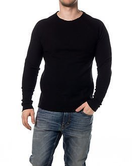 Only & Sons Elroe Crew Neck Black