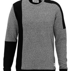 Only & Sons Fennel Crew Neck Dark Grey Melange
