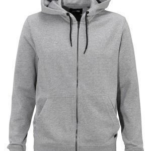 Only & Sons Fiske Zip Hoodie Light Grey Melange