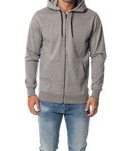 Only & Sons Fiske Zip Hoodie Light Grey Melange