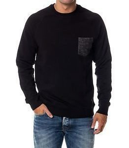 Only & Sons Folk Crew Neck Black