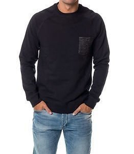 Only & Sons Folk Crew Neck Dark Navy