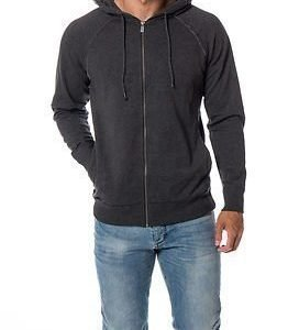 Only & Sons Frede Zip Hood Dark Grey Melange