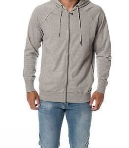 Only & Sons Frede Zip Hood Light Grey Melange