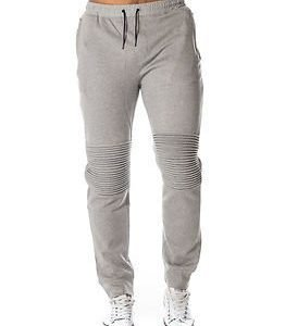 Only & Sons Fritz Quilted Pants Light Grey Melange