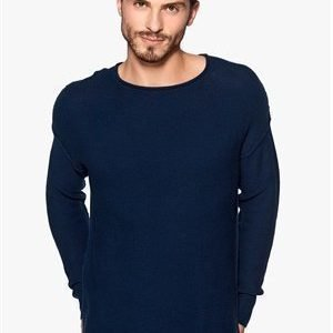 Only & Sons Galliard knit sweater Dress Blue