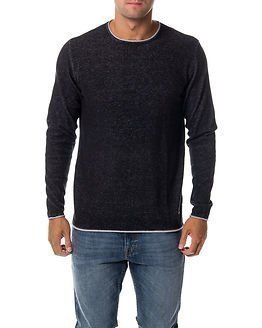 Only & Sons Garson Naps Crew Neck Knit Black