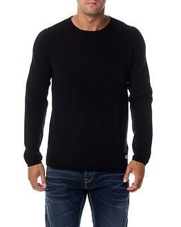 Only & Sons Gason New Crew Neck Knit Black