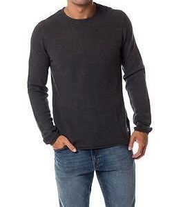 Only & Sons Gason New Crew Neck Knit Dark Grey Melange
