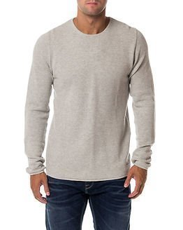 Only & Sons Gason New Crew Neck Knit Light Grey Melange
