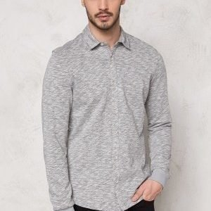 Only & Sons Helmut Jersey Shirt Light Grey Melange