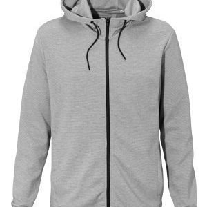 Only & Sons Holden zip hood Light grey melange
