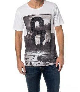 Only & Sons Jesper O-neck White Logo