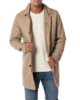 Only & Sons Jonathan Trench Coat Chincilla