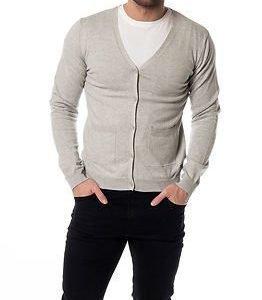 Only & Sons Jonnie Cardigan Slim Fit Knit Light Grey Melange