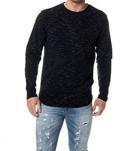 Only & Sons Joseph Curve Crew Neck Black