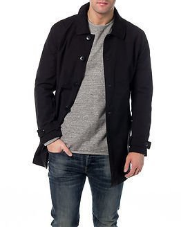 Only & Sons Jules Trench Coat Black