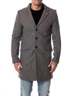Only & Sons Julian Trench Medium Grey Melange
