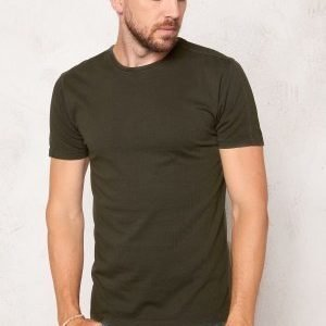Only & Sons Kanta Organic Fitted Tee Forest Night