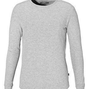 Only & Sons Karl ls structure tee Light grey melange