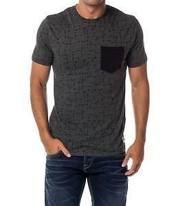 Only & Sons Kasey AOP Fitted Tee Urban Chic