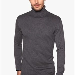 Only & Sons Keyon turtel neck Dark grey melange