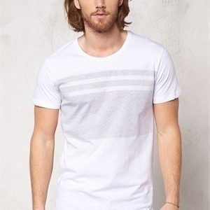 Only & Sons Later reg o-neck White