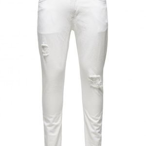 Only & Sons Loom 3907 White Ad Skinny Fit Farkut