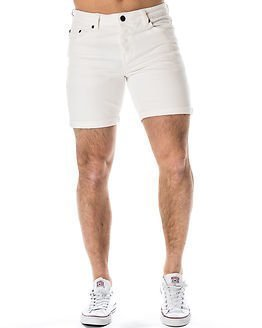 Only & Sons Loom Shorts White