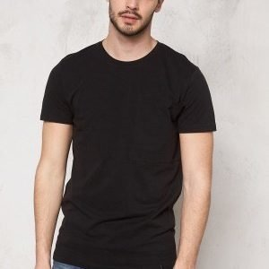 Only & Sons Mads Long O-Neck Tee Black
