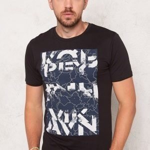 Only & Sons Net Fitted Tee Black